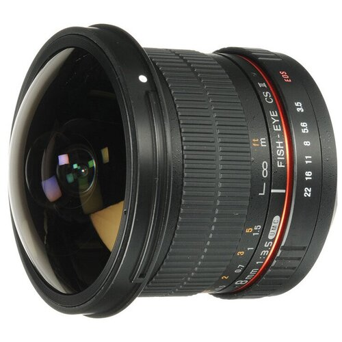 Фото - Объектив Samyang 8mm f/3.5 AS IF UMC Fish-eye CS II Canon EF bushing 8mm