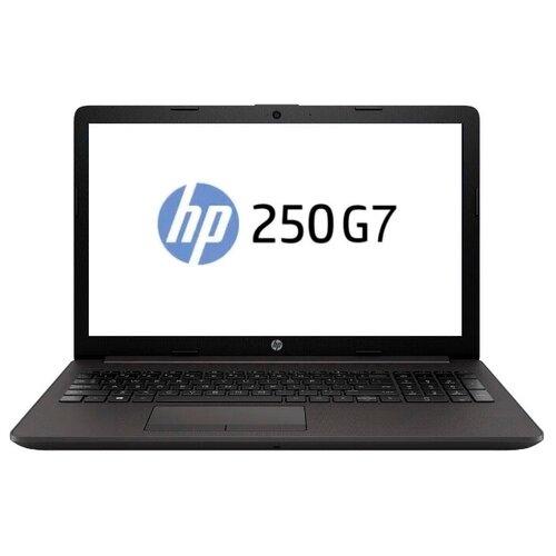 """Ноутбук HP 250 G7 (Intel Celeron N4020 1100MHz/15.6""""/1366x768/4GB/500GB HDD/Intel UHD Graphics 600/DOS) 1L3U4EA dark ash silver"""