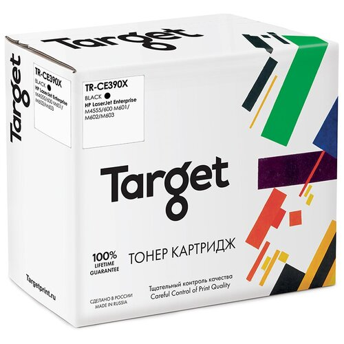 Фото - Картридж Target TR-CE390X, совместимый картридж target tr ce390x совместимый