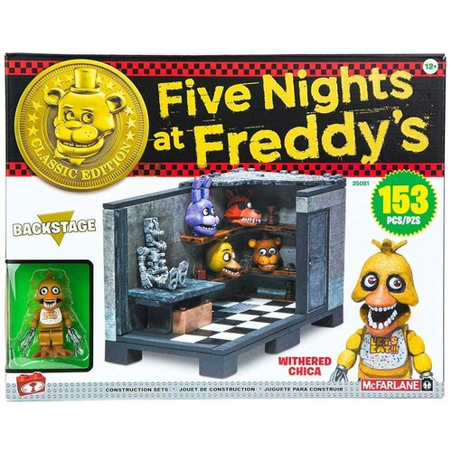 Конструктор McFarlane Toys Five Nights at Freddy's 25081 Backstage