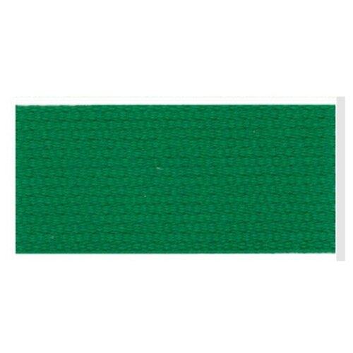 Тесьма ременная (стропа) PEGA темно-зеленая, 30 мм 100% хлопок