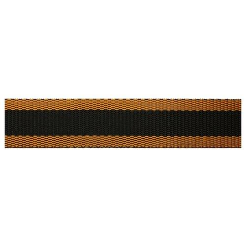 Купить Лента для ремней, 3 см*25, 50 м (черный/оранжевый), Красная лента, Технические ленты и тесьма