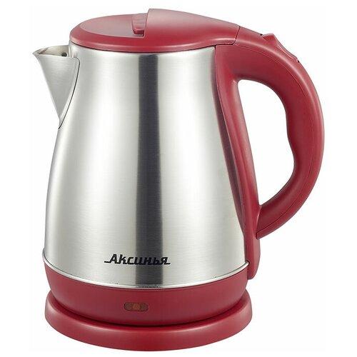 Чайник Аксинья КС-1050, бордовый