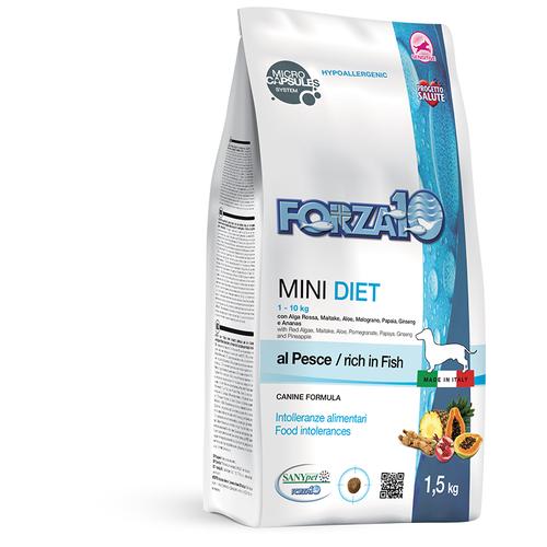 Сухой корм для собак Forza10 рыба 1.5 кг (для мелких пород)