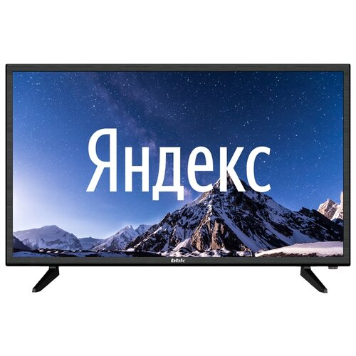 "Телевизор BBK 32LEX-7289/TS2C 32"" (2020) на платформе Яндекс.ТВ, черный"