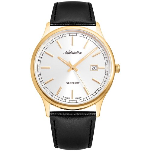 Фото - Часы наручные швейцарские мужские Adriatica A1293.1213Q мужские часы adriatica a1246 5217q