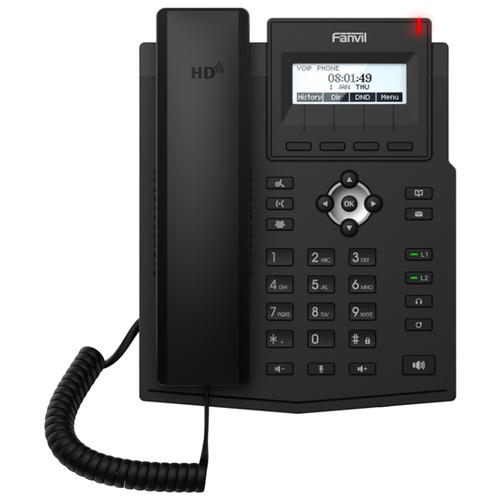Фото - VoIP-телефон Fanvil X1SP черный 3642 j