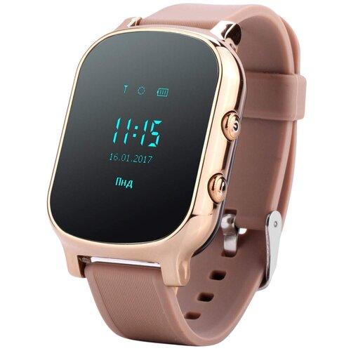 Детские умные часы Smart Baby Watch T58, золотистый умные часы smart watch w8