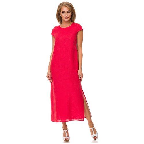 Фото - Женское летнее платье из льна Россия Gabriela 5169-9 р.46 платье ichi 20109482 женское цвет фиолетовый 15518 winetasting однотонный р р 46 m
