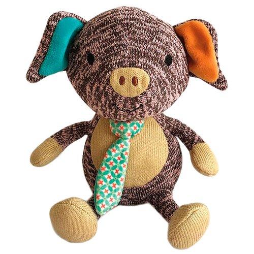Купить Мягкая игрушка Gulliver Поросёнок Эдди 17 см, Мягкие игрушки