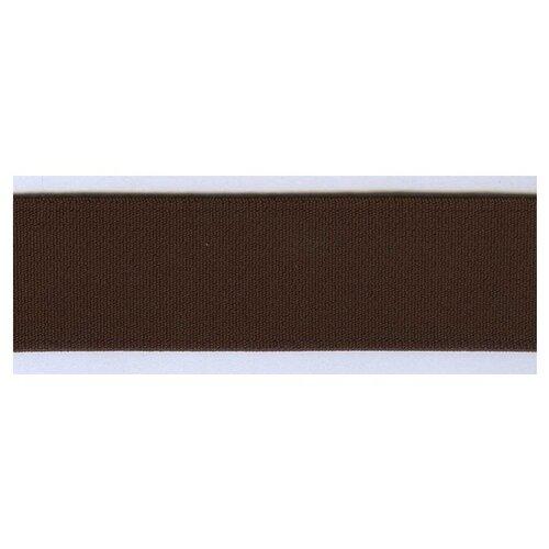 Купить Резинка, 30 мм, цвет коричневый 76% полиэтер, 24% латекс, PEGA, Технические ленты и тесьма