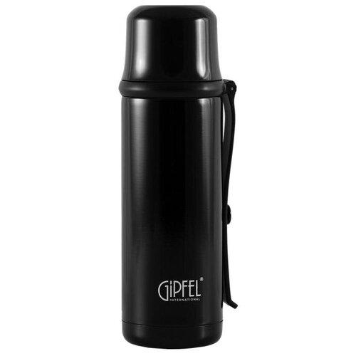 Классический термос GIPFEL Conrad, 0.35 л черный