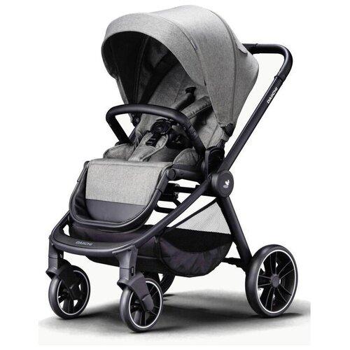 Прогулочная коляска Daiichi Allee, misty grey/black, цвет шасси: черный