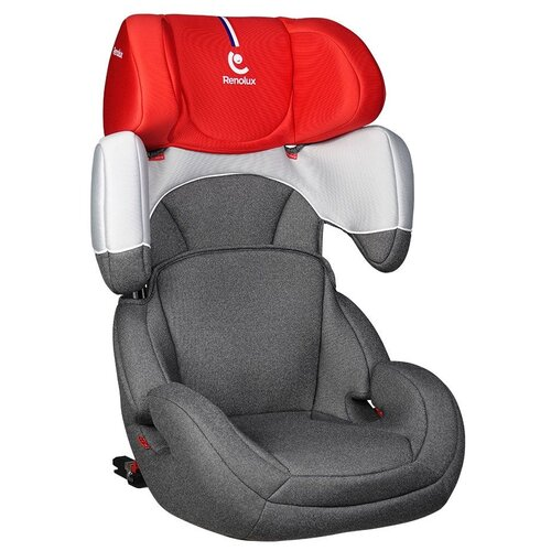 Автокресло группа 2/3 (15-36 кг) Renolux StepFix 2-3, smart red автокресло группа 1 2 3 9 36 кг little car ally с перфорацией черный