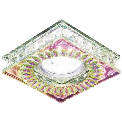 Встраиваемый светильник Ambrella light Crystal LED S251 PR, хром/перламутровый хрусталь 0 pr на 100