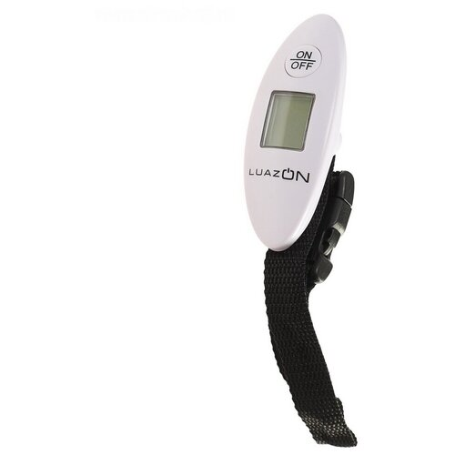 Электронный безмен Luazon LV-404, белый