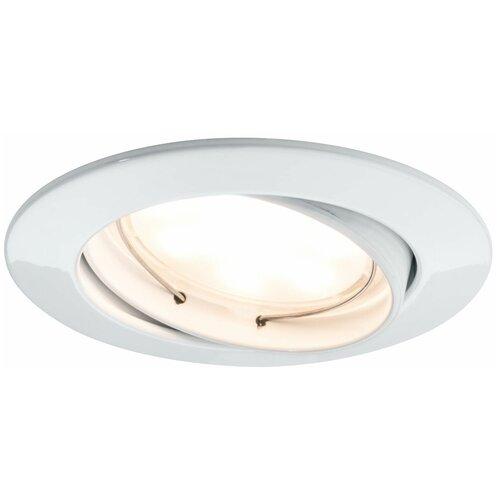 Фото - Встраиваемый светильник Paulmann Coin 93978, 3 шт. встраиваемый светильник paulmann 92521 3 шт