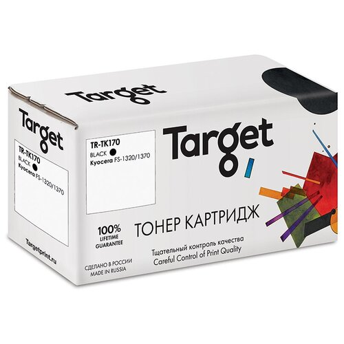 Фото - Картридж Target TR-TK170, совместимый картридж target tr ce390x совместимый
