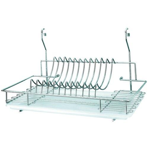 Фото - Сушилка для посуды Esprado Platinos 0014426E212, 44х25.8х26 см сушилка для посуды esprado platinos 0024222e212 42 5х43х22 5 см