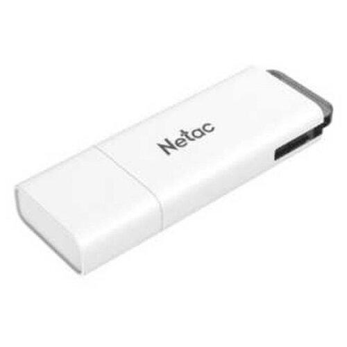 Флешка Netac U185 32GB белый