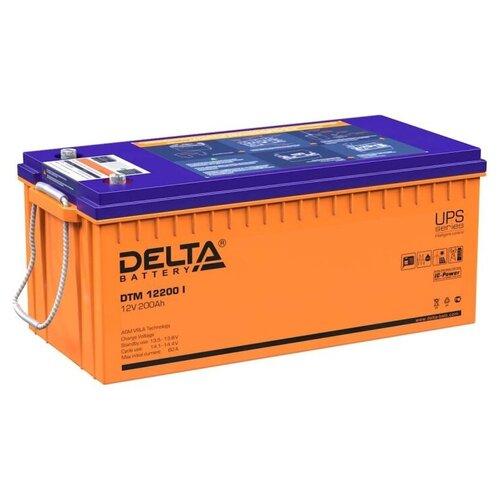 Аккумуляторная батарея DELTA Battery DTM 12200 I 200 А·ч аккумуляторная батарея delta battery dtm 12250 i 250 а·ч