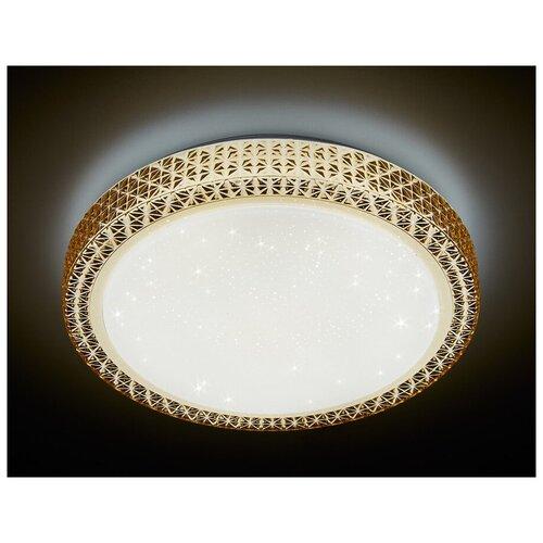 Светильник светодиодный Ambrella light F86 CF 72W D500 ORBITAL, LED, 72 Вт светильник светодиодный ambrella light f130 wh gd 72w d500 orbital led 72 вт
