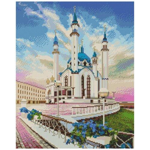 Алмазная вышивка фрея ALVK-32 Кул Шариф. Соборная мечеть 40x50