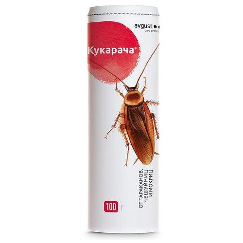 Гранулы avgust Кукарача от тараканов чешуйниц и мокриц, 100 г