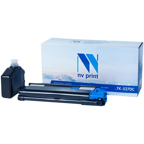 Фото - Картридж NV Print TK-5270 Cyan для Kyocera, совместимый картридж nv print tk 5230 cyan для kyocera совместимый