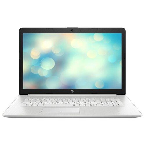 Ноутбук HP 17-by2053ur (Intel Core i3 10110U 2100MHz/17.3/1600x900/8GB/256GB SSD/DVD-RW/Intel UHD Graphics/Wi-Fi/Bluetooth/DOS) 2F1Z1EA, естественный серебряный