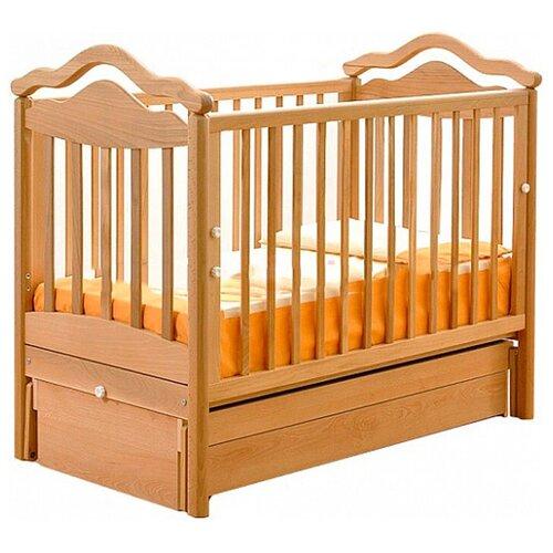Кроватка Гандылян Анжелика (классическая), универсальный маятник натуральный кроватка гандылян даниэль классическая универсальный маятник белый