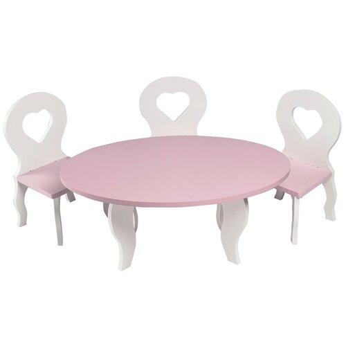 Фото - PAREMO Набор мебели для кукол Шик (PFD120) белый/розовый paremo набор мебели для кукол цветок pfd120 45 pfd120 46 pfd120 44 pfd120 42 pfd120 43 белый фиолетовый