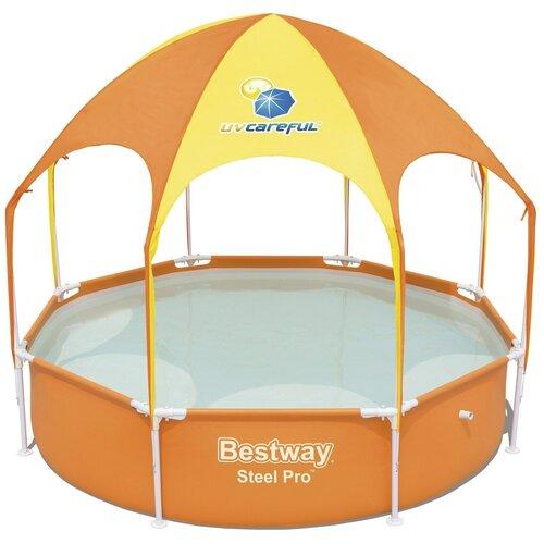 Фото - Детский бассейн Bestway Splash-in-Shade Play 56432/56193 детский бассейн bestway splash and play 57241
