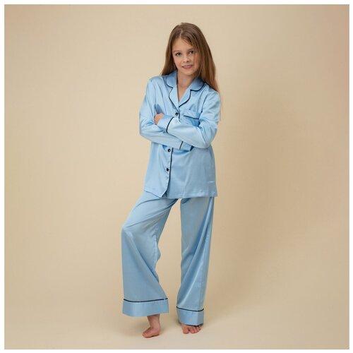 Купить Пижама детская NICOLE HOME122128blue32р, Домашняя одежда