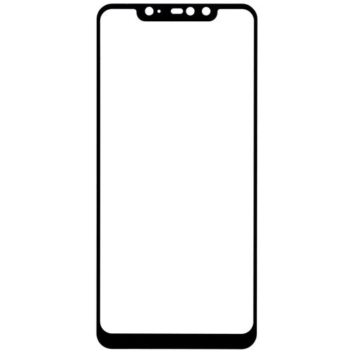 Защитное стекло Gosso FULL SCREEN для Xiaomi Redmi Note 6 черный