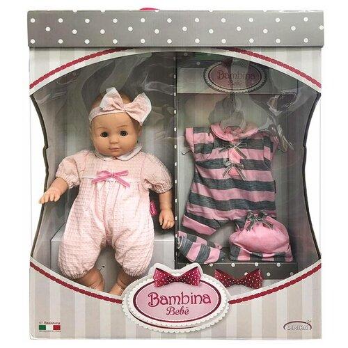 Фото - Кукла DIMIAN Bambina Bebe Пупс мягконабивной 36 см dimian