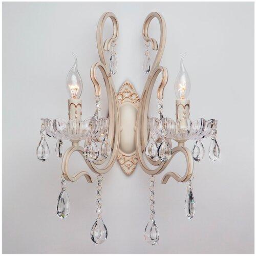 Фото - Настенный светильник Eurosvet Etna 12205/2 белый, E14, 80 Вт светильник eurosvet 90095 10 белый begonia