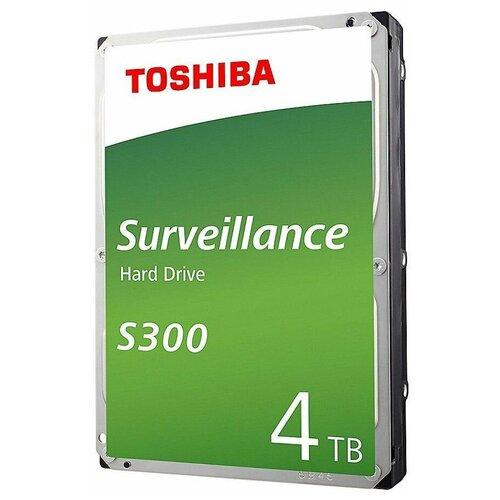 Жесткий диск Toshiba 4 TB HDWT740UZSVA, серебристый жесткий диск toshiba 4 tb hdwt140uzsva серебристый