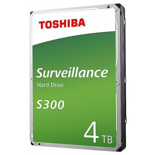 Жесткий диск Toshiba 4 TB HDWT740UZSVA, серебристый