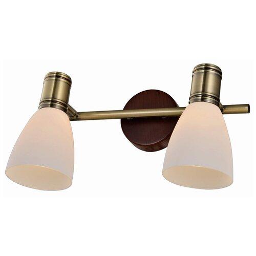 Фото - Настенный светильник Toplight Sharyl TL3720Y-02BB, 80 Вт светильник без эпра toplight sharyl tl3720y 03bb 48 х 16 см e14