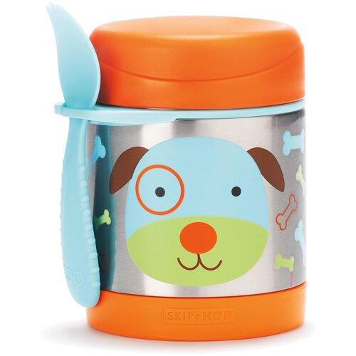Термос для еды SKIP HOP Zoo Dog, 0.325 л оранжевый