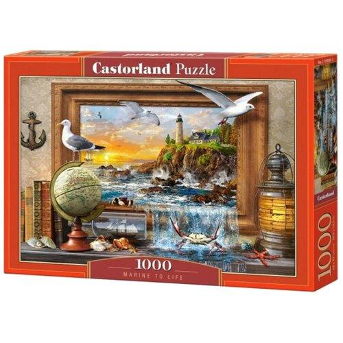 Купить Пазл Castorland Морская жизнь (C-104581), 1000 дет., Пазлы