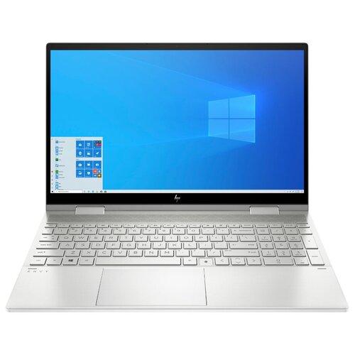 "Ноутбук HP Envy x360 15-ed1018ur (Intel Core i5 1135G7 2400MHz/15.6""/1920x1080/8GB/512GB SSD/Intel Iris Xe Graphics/Windows 10 Home) 2X1R0EA естественный серебристый"