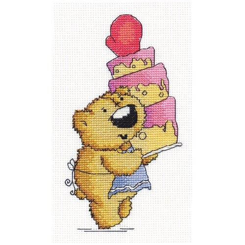 Купить PANNA Набор для вышивания Угощение 11 х 20 см (J-1222), Наборы для вышивания