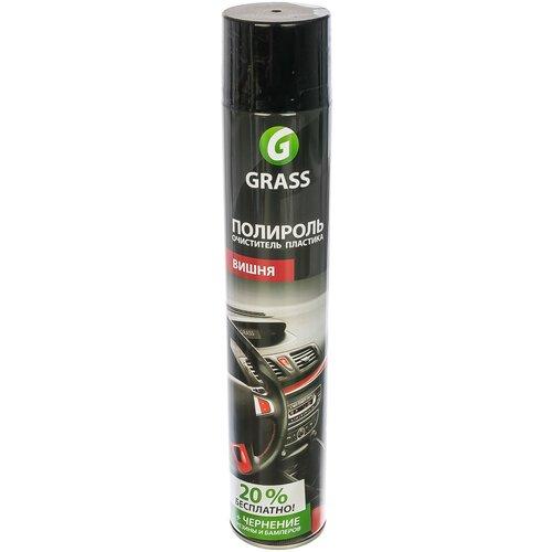Grass Полироль-очиститель пластика салона автомобиля Dashboard Cleaner (120107-2), 0.75 л очиститель салона grass universal cleaner 20 кг
