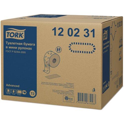 туалетная бумага tork advanced 120231 12 рул Туалетная бумага TORK Advanced 120231 12 рул.