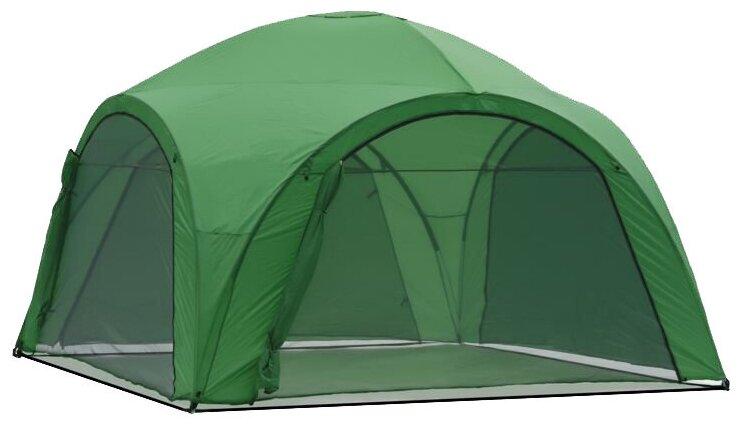 Шатер Green Glade 1264, со стенками и москитной сеткой, 4 х 4 х 2.65 м