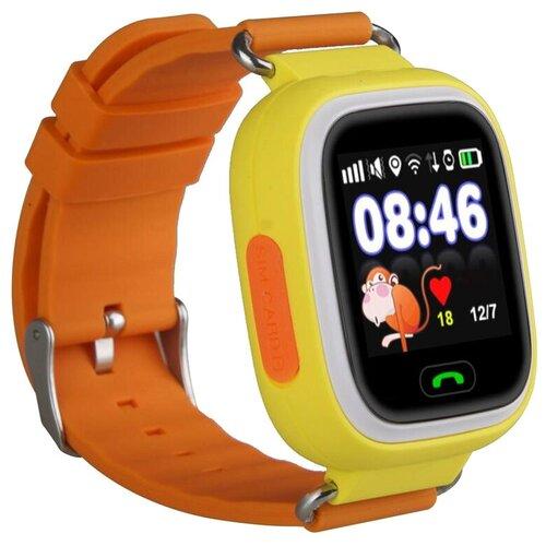 Детские умные часы Smart Baby Watch Q80, желтый детские умные часы smart baby watch q100 gw200s желтый