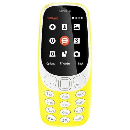 Фото - Телефон Nokia 3310 Dual Sim (2017), желтый сотовый телефон nokia 3310 dual sim 2017 синий