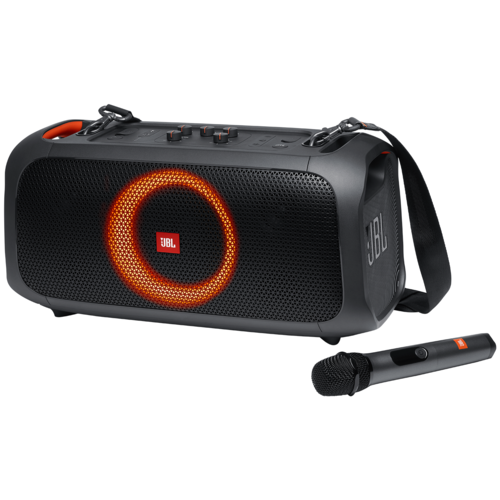 Портативная акустика JBL PartyBox On-The-Go, black